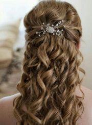 el peinado de mi boda. semi recogido