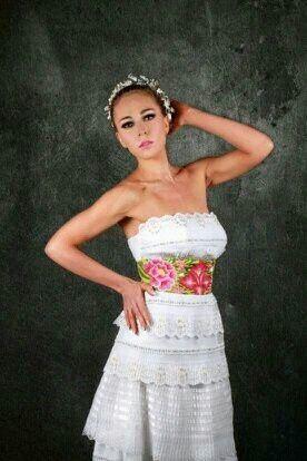 Vestidos de novia a la mexicana  Foro Moda Nupcial