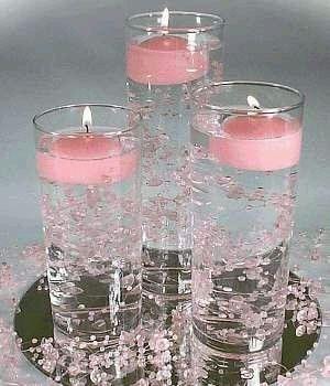 Arreglos De Mesa Con Vasos De Cristal Foro Organizar Una Boda Mx
