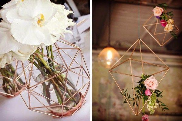 Decoracion de boda en color rose gold   Foro Organizar una boda  bodascommx