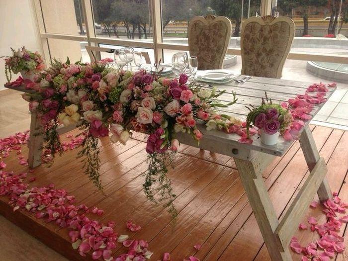 Mesa de novios vintage  Foro Organizar una boda  bodas