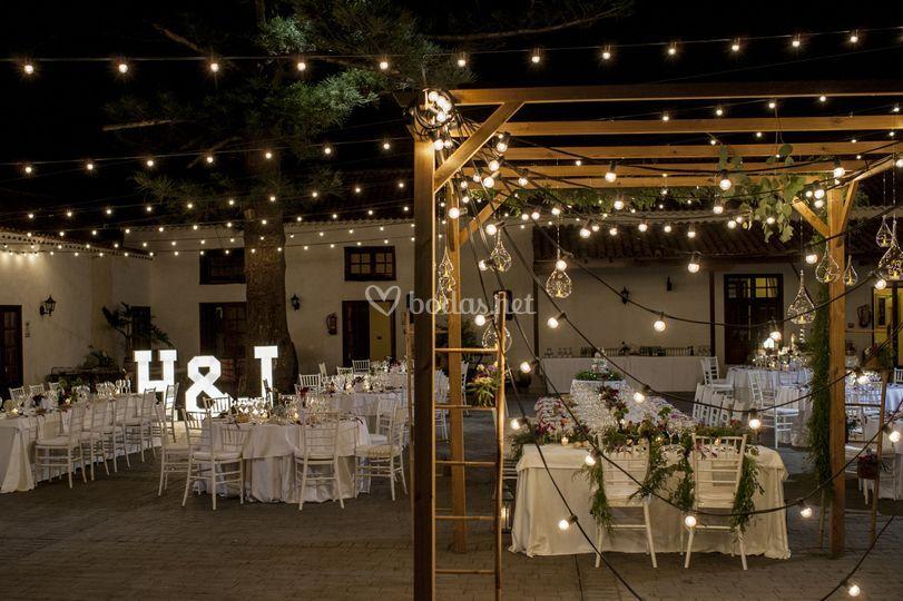 Iluminacin boda de Dbodas  Foto 46