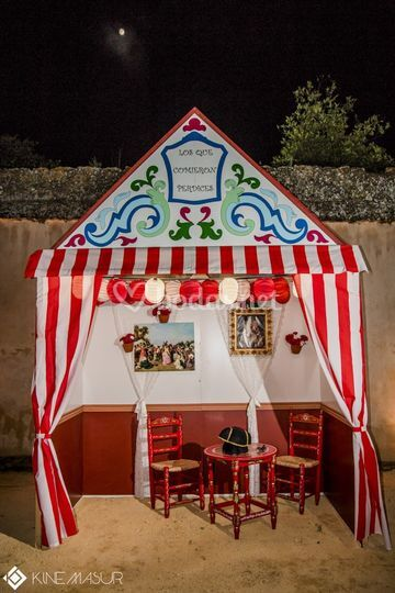 Caseta de Photocall Inc Sevilla  Fotos