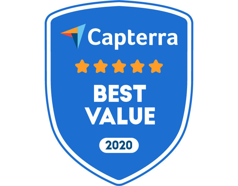 Capterra Best Value for Collaboration Nov-2020