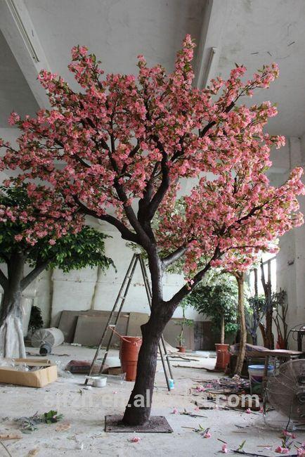 rvore cerejeira na decorao