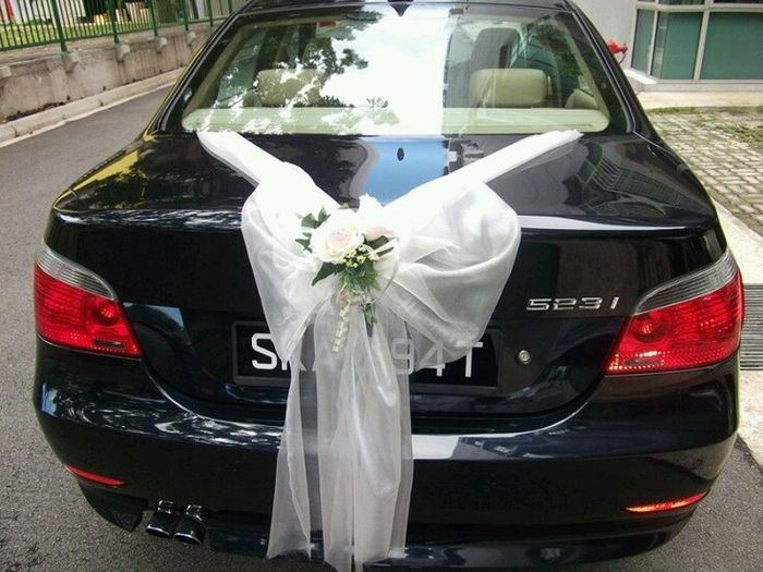 Car Wedding Decor