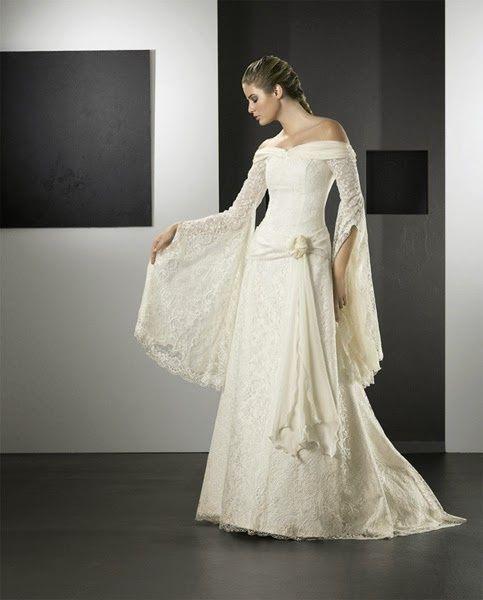 Vestidos de novias estilo medievalpara que elijas el