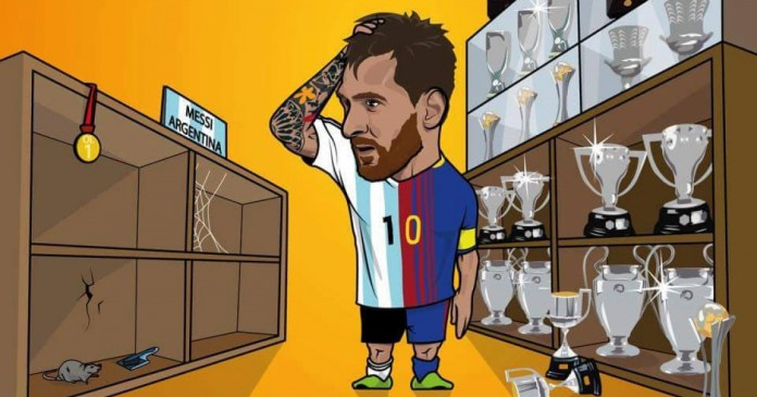 Resultado de imagen para Caricaturas de Messi