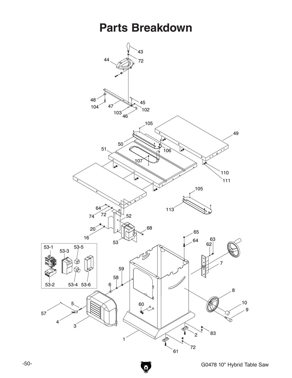 Sawstop Wiring Diagram Ingersoll Rand Wiring Diagram