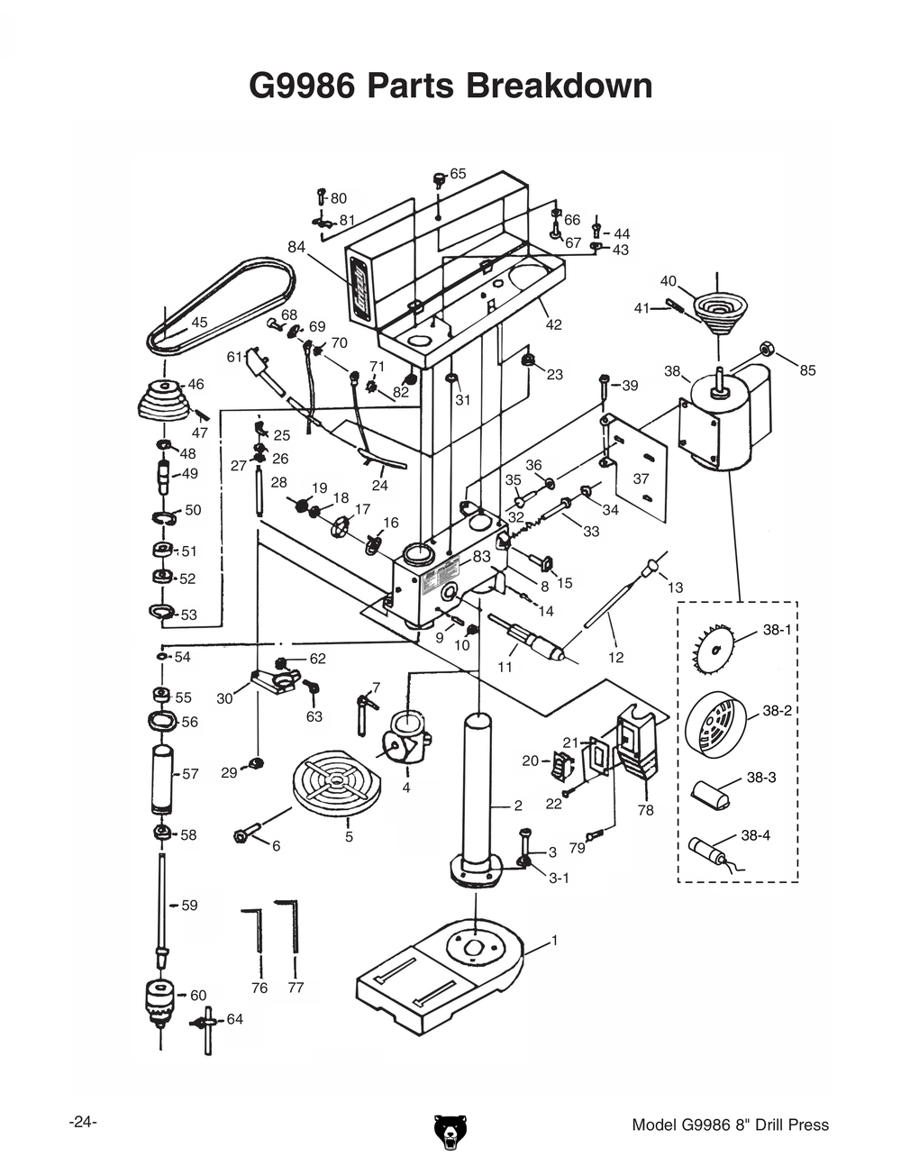 Image Of Dayton Bench Grinder Manual Dayton 2Z341K Bench