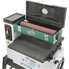 Grizzly G0458z 18 1 12 Hp Open End Drum Sander W Vs Feed