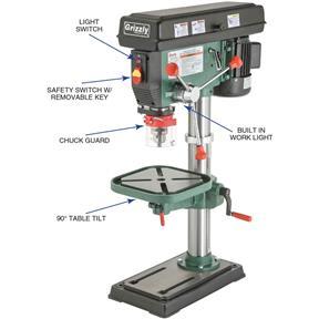 Craftsman 15 Drill Press 1hp