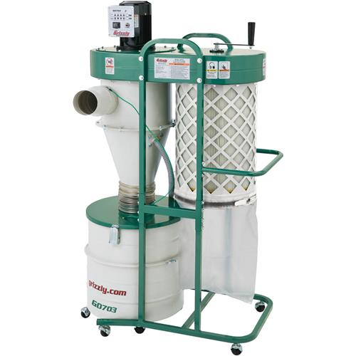 Grizzly G0703p Cyclone Dust Collector