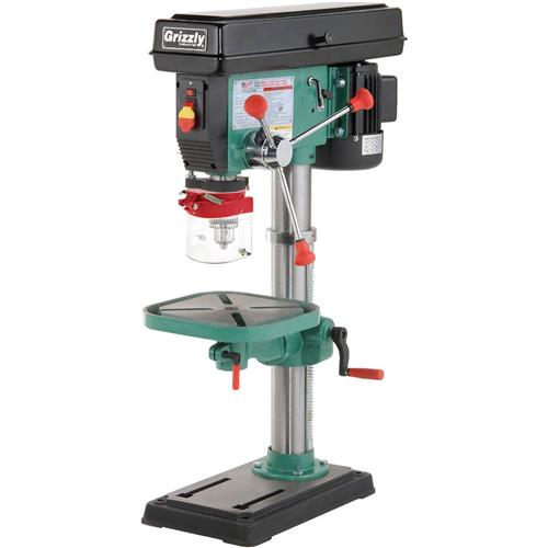 12 Speed Heavyduty Benchtop Drill Press  Grizzly Industrial