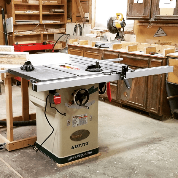 Grizzly Table Saw Fence Upgrade - Year of Clean Water