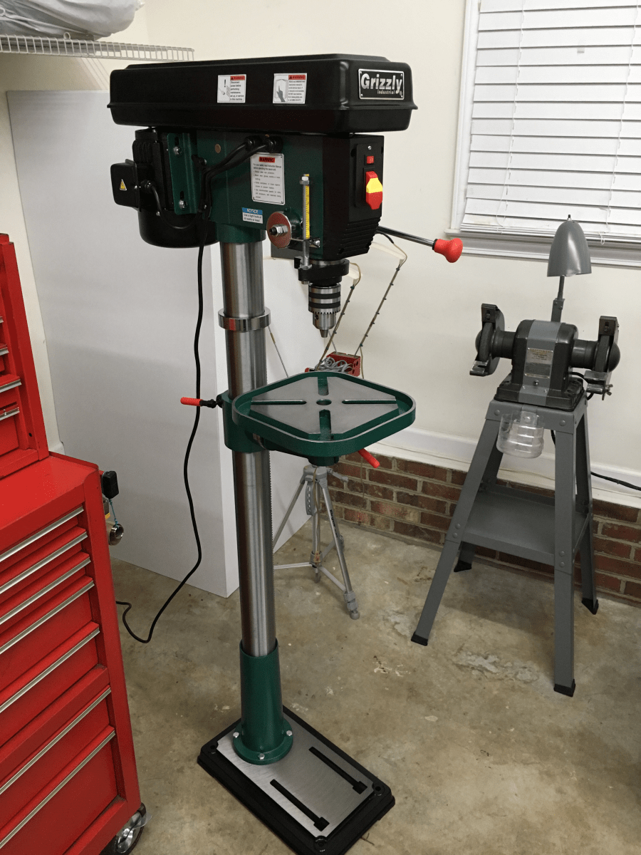 Hand Crank Drill Press For Sale