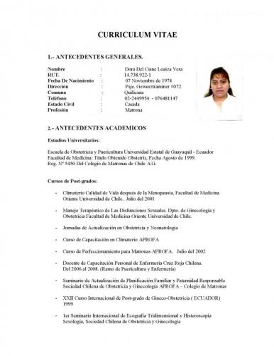 curriculum vitae lucas5
