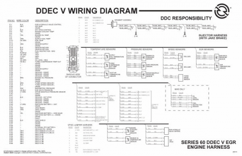 ddec v wiring diagram