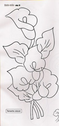 Dibujos De Alcatraces Para Pintar Imagui Flores Para