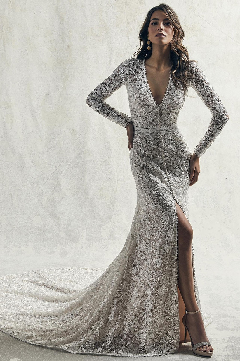 Long Sleeve Wedding Dresses Our Favourite Picks Hitched Co Uk