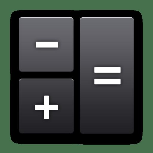 android calculator r icon