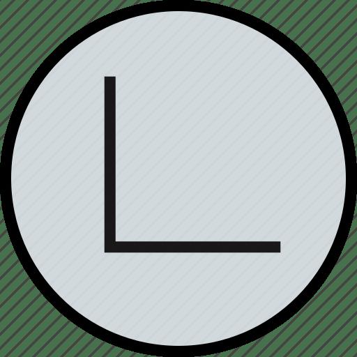 Edge Line Sharp Icon