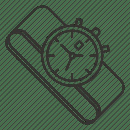 Clock, smartwatch, time, watch, wrist, wristwatch icon