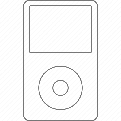 Apple, classic, device, ipod, media, multimedia, player icon