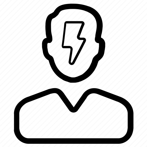 Brainstorming, business idea, solution, strategy icon