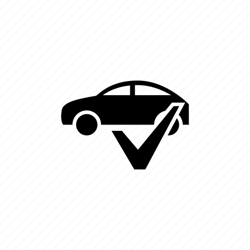 Approved, car, check, control, ok, test, yes icon