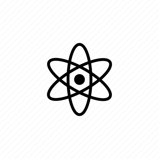 Atom model, atomic, electron clouds, electrons, nuclear