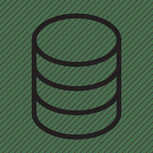 Data, database, mysql, server, sql icon