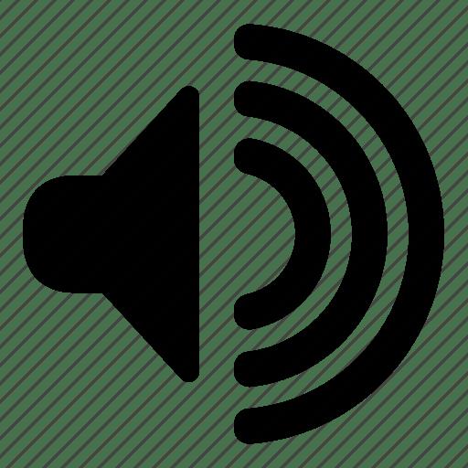 Audio sound speaker volume icon Icon search engine