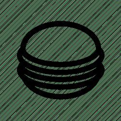 macaron fast food restaurant menu icon 512px