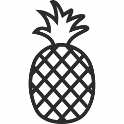 Food fruit healthy pineapple pineapple juice icon Download on Iconfinder