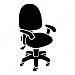 Ergonomic Chair Data King Furniture Dining Chairs Adjustable Office Swivel Icon