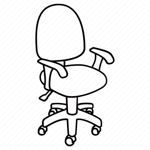 ergonomic chair data eames aluminum management replica adjustable furniture office swivel icon