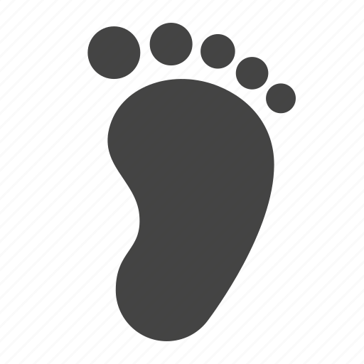 baby child foot footprint
