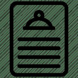 icon menu restaurant list icons editor open