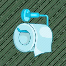 Bathroom cartoon cleaner hygiene paper roll toilet icon Download on Iconfinder