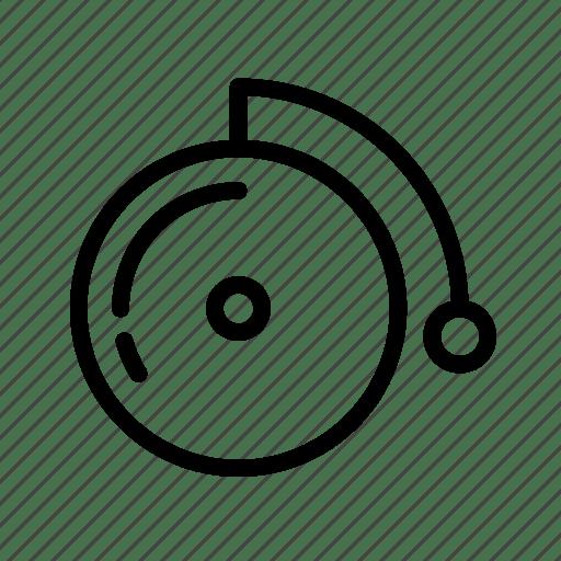 Alarm, bell, door bell, doorbell, household, ring icon