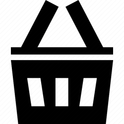 empty icon basket shopping cart recycle ecommerce trash webshop bin sell bag icons