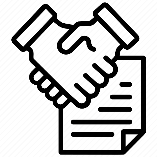 Collaboration, corporate business, partnership agreement