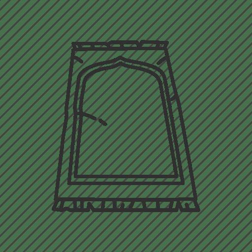 Carpet, cover, mat, prayer mats icon