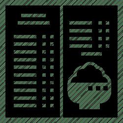 food restaurant menu recipe icon editor open
