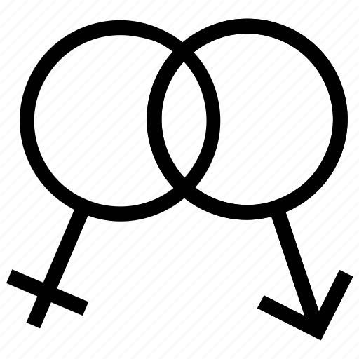 Couple, female sign, gender signs, gender symbols, male