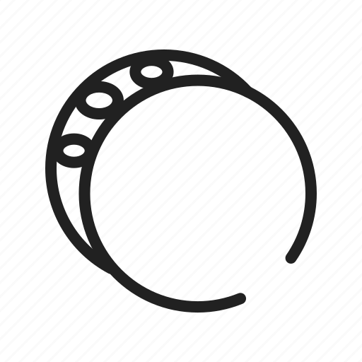 Band, bracelet, orange, plastic, rubber, wrist, wristband icon