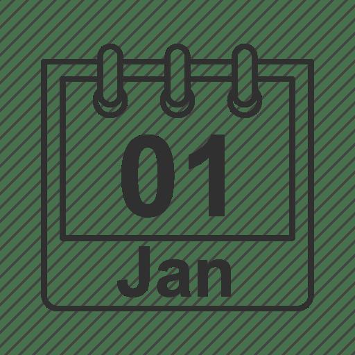 Calendar, daily calendar, date, flip calendar, meeting