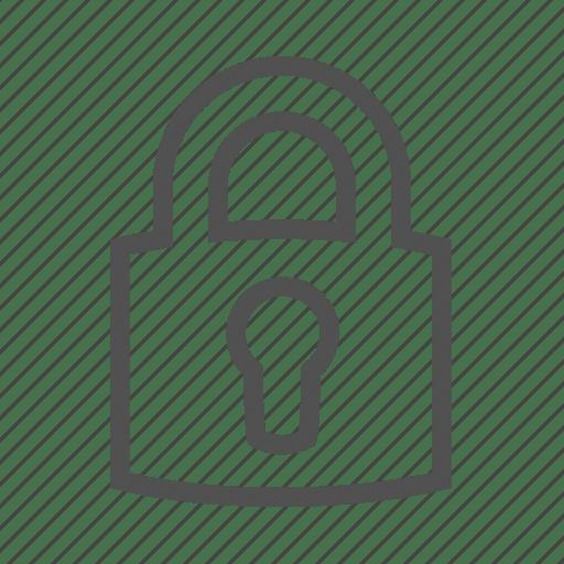 Secure Lock Symbol
