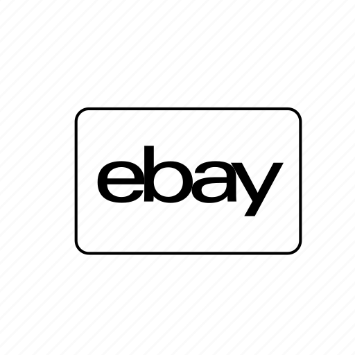 Bank, card, credit, debit, ebay, transaction icon